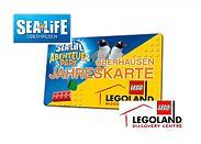 Gutschein für Die Kombi-Jahreskarte für die ganze Familie zum halben Preis! von LEGOLAND Discovery Centre & SEA LIFE