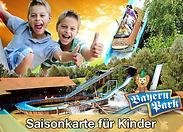 Gutschein für Saisonkarten für Kinder zum halben Preis – für doppelten Freizeitspaß! von Bayern-Park