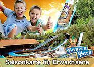 Gutschein für Saisonkarten für Erwachsene zum halben Preis – für doppelten Freizeitspaß! von Bayern-Park