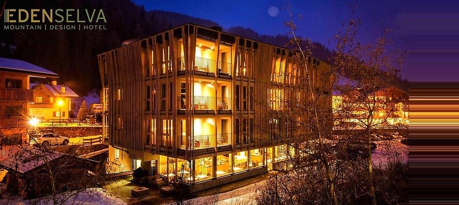 Gutschein für Ihr traumhafter Kurzurlaub in Südtirol zum halben Preis! von Mountain Design Hotel Eden Selva