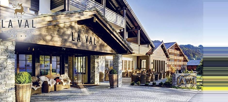 Gutschein für Ihr Kurzurlaub im schweizer Wohlfühlparadies zum halben Preis! von Hotel LA VAL