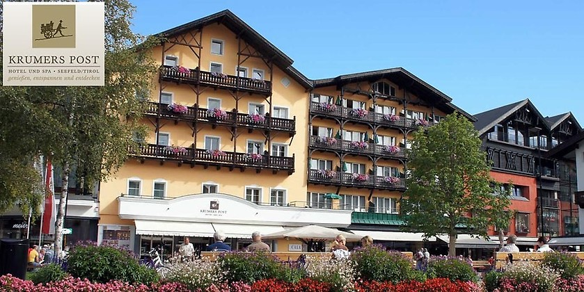Gutschein für Ihr Wellness-Kurzurlaub in Seefeld/Tirol zum halben Preis! von Krumers Post Hotel & Spa