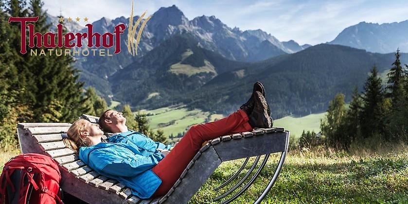 Gutschein für Ihr Kurzurlaub für zwei Personen zum halben Preis! von Naturhotel Thalerhof