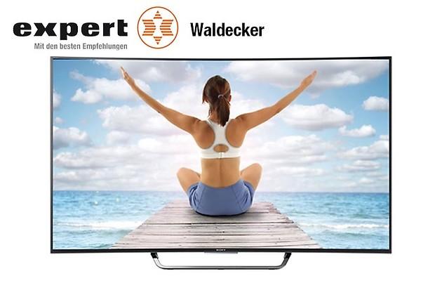 Gutschein für Ihr Sony KD55S8005CBAEP Fernseher zum halben Preis! von expert Waldecker