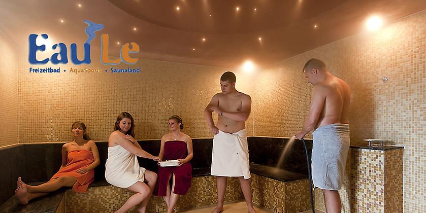 Gutschein für Erholung und Fitness in Ihrer Nähe! von Eau-Le Freizeitbad • AquaSports • Saunaland