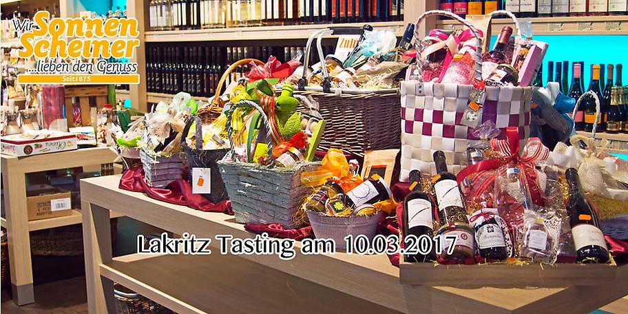 Ihr Gutschein für das Lakritz Tasting am 10.03.2017