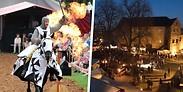 Gutschein für Familienticket für das Pfingst-Spektakulum und die Broicher Schloss-Weihnacht von MST - Mülheimer Stadtmarketing und Tourismus GmbH