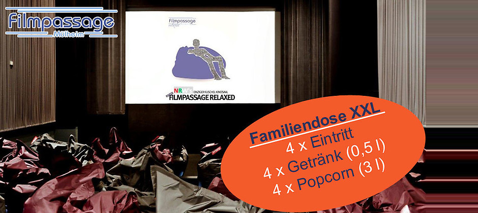 Gutschein für Ihr Gutschein für Kino mit Zukunft von Filmpassage Mülheim