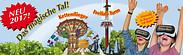 Gutschein für Familienkarte 2x2 zum halben Preis! von Erlebnispark Schloss Thurn