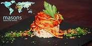 Gutschein für Eine Kulinarische Weltreise von Restaurant Masons Taste the world