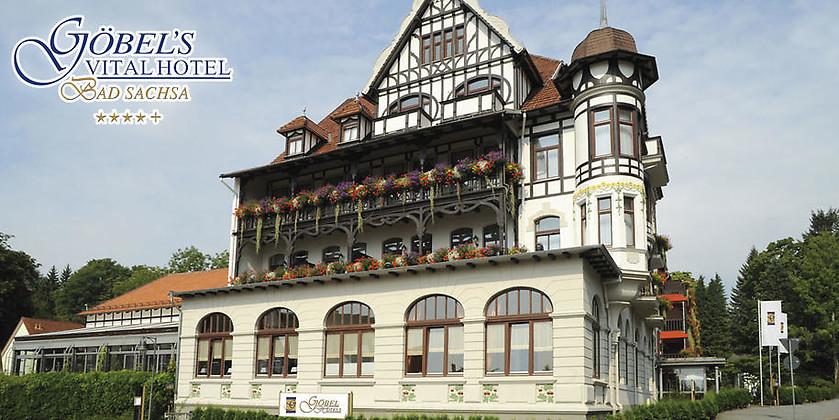 Gutschein für ERLEBEN, GENIESSEN, ENTSPANNEN – Gönnen Sie sich eine Auszeit im sagenumwobenen Harz von Göbel's Vital Hotel ****