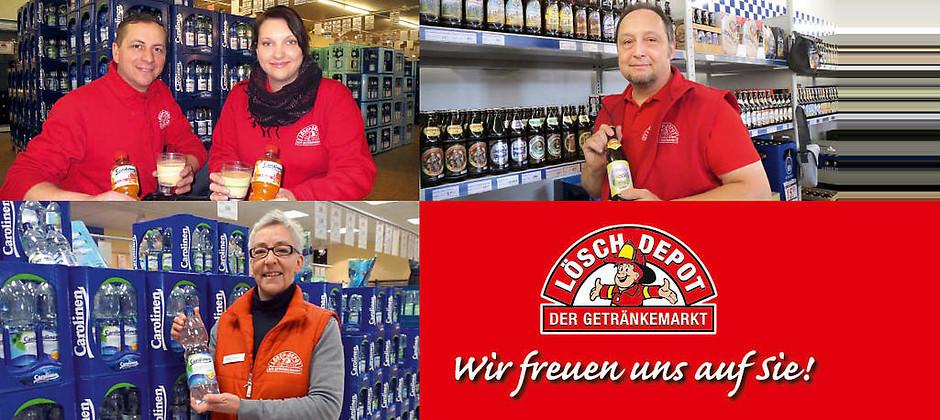 Gutschein für Getränkevielfalt zum halben Preis verschenken von Löschdepot - Der Getränkefachmarkt